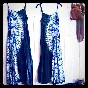 Indigo Tie-dyed Maxi-dress 💙